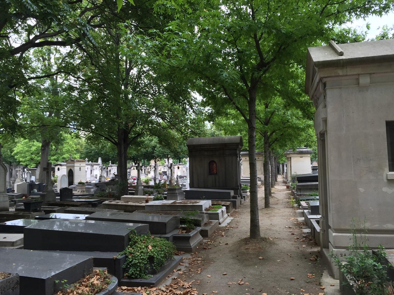 Allée de cimetière