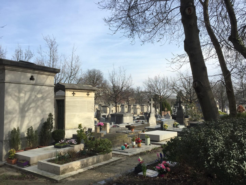 Vue cimetière montmartre